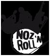 Logo Noz'N'Roll Noir & Blanc